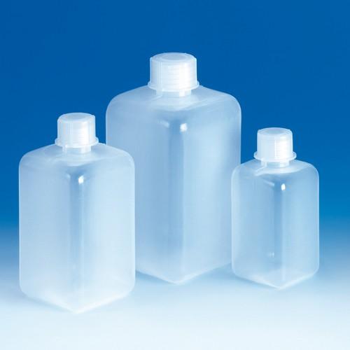 Narrow-Neck High Shoulder Bottle made of LDPE - square
