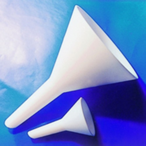Funnel made of PTFE - conical