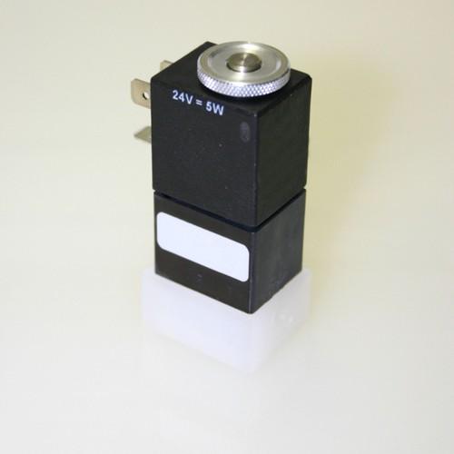 3/2-Wege-Magnetventil aus PVDF
