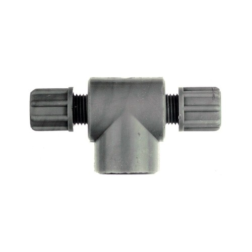 T-Shaped Connector with Female Thread made of PP or PVDF