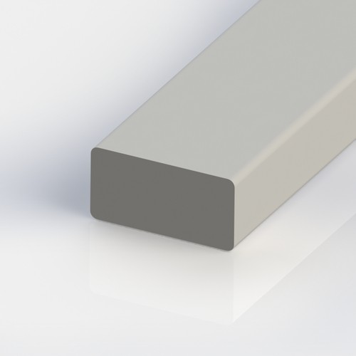 Rectangular Profile made of Glass Fiber Reinforced Plastic GFRP