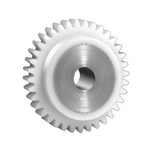Stirnzahnrad aus Kunststoff (mit Edelstahlkern) - Modul 1,5-2,0