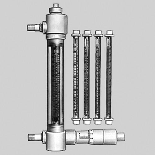 Durchflussmesser mit Regelventil und tauschbaren Messrohren