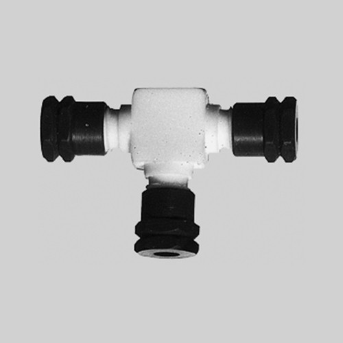 T-Shaped Connector made of PTFE