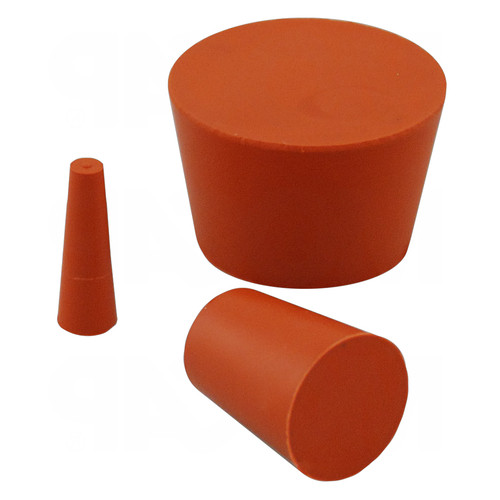 High-Therm Tapered Plug made of Silicone - high-temperature resistant