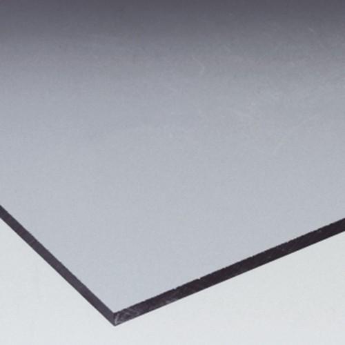 Platte aus PVC-U - transparent