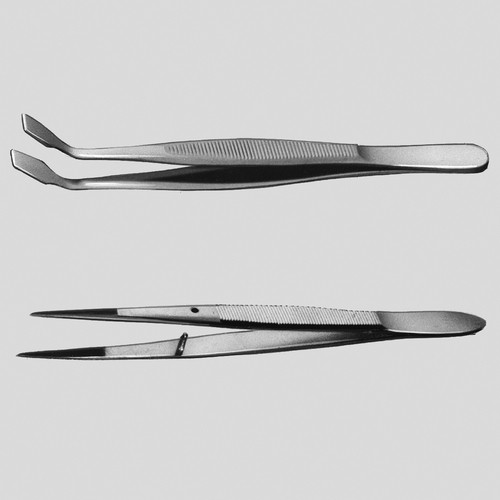 Cover Glass Forceps - PTFE-Coated