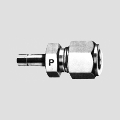 Straight Pipe Screwed Fitting with Shaft made of Brass or Stainless Steel