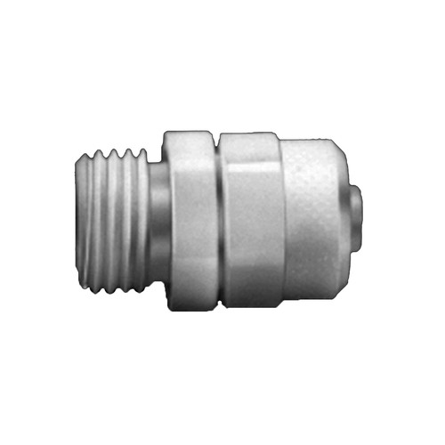 Straight Connector with Male Thread made of POM