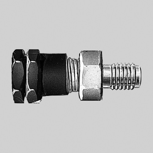 Straight Connector with Male Thread made of PTFE
