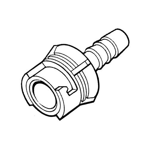 PP-Schnellverschlusskupplung, NW 1,6 mm