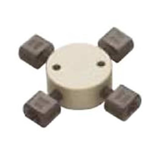 Hochdruck-Kreuz-Kapillar-Verbinder aus PEEK