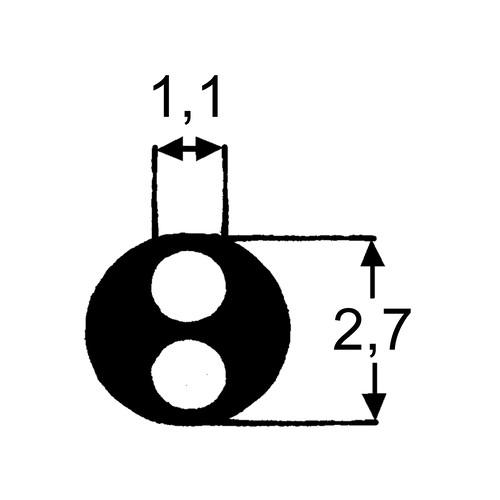 LDPE-Multilumen-Katheterschlauch