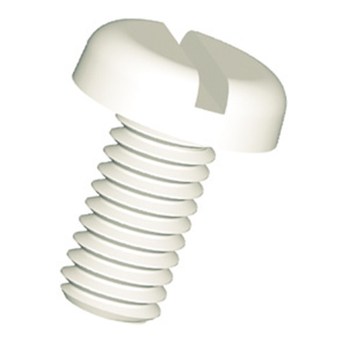 Slotted Pan Head Screw (DIN 85) made of PA
