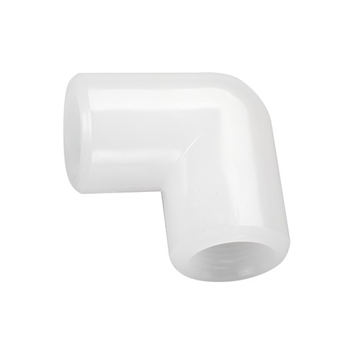 Elbow Threaded Sleeve made of PP, PVDF or PFA