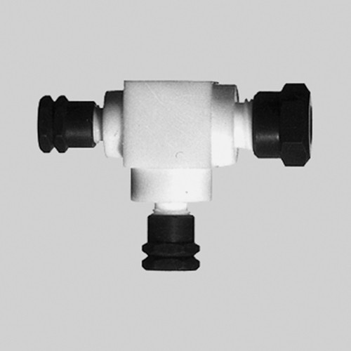 T-Shaped Reducing Connector made of PTFE