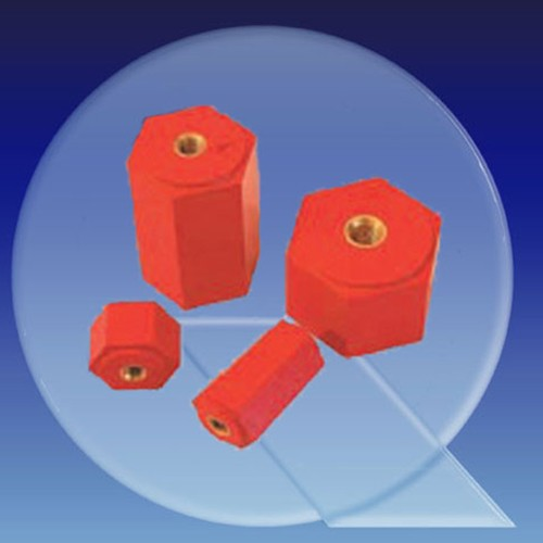 Insulating Spacers made of PEs-glass fiber reinforced - hexagon
