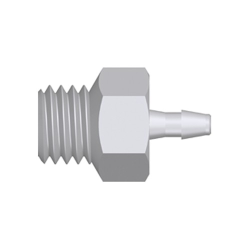 "Mini Screw-in Connector with male thread UNF 1/4""-28"