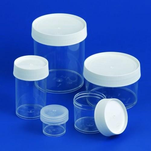 Verpackungsdose aus TPX - mit Schraubverschluss