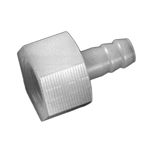 Gerade-Schlauchtülle mit Innengewinde aus PP, PVDF oder PTFE