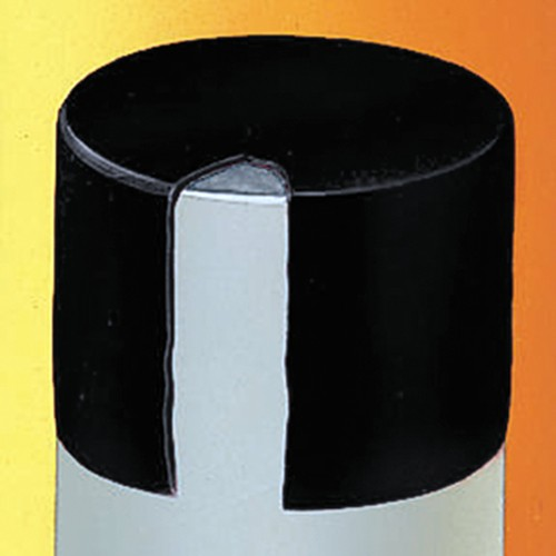Round Cap made of EPDM - chemical-resistant