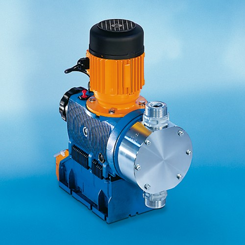 High-Tech Microprocessor Diaphragm Metering Pump made of Stainless Steel - MP