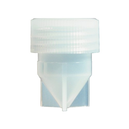 Sample Vial mae of PFA - with screw cap and conical bottom