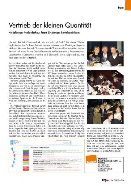 PI_2008-11_CITplus_Vertrieb_der_kleinen_Quantitaet