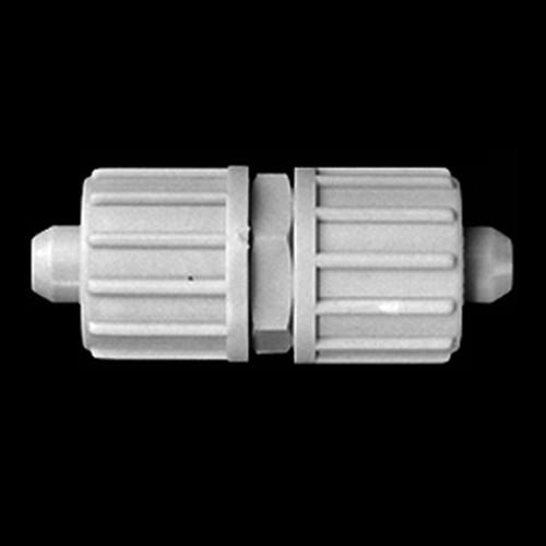 Gerader-Verbinder aus PP oder PVDF für Gewebeschläuche