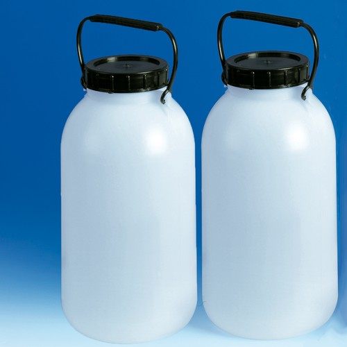 Wide-Mouth Storage Bottle made of LDPE - without cock