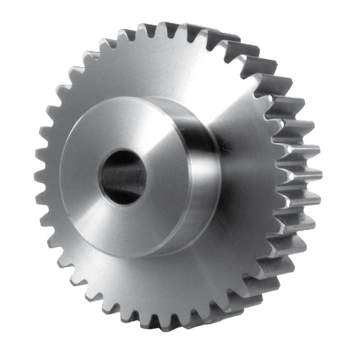 Spur Gear made of Stainless Steel - Module 1.0-2.0