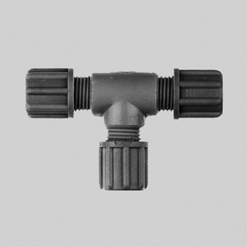 T-Shaped Connector made of PP or PVDF