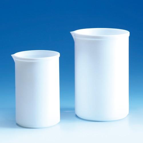 Beaker made of PTFE