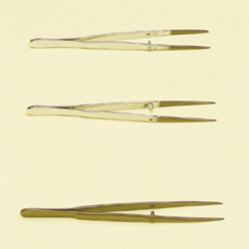 Tweezers made of Nickel-Plated Forged Steel - PTFE-Coated
