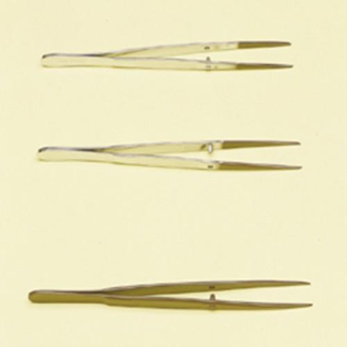 Pinzette aus nickelplattiertem Schmiedestahl - PTFE-beschichtet