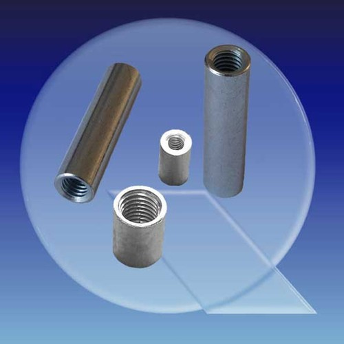 Spacer made of Steel - round, internal thread