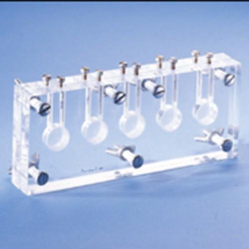 In-line Multi Equilibrium Dialysing Cell