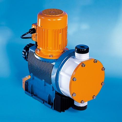 High-Tech Microprocessor Macro Diaphragm Metering Pump made of PVDF - MP