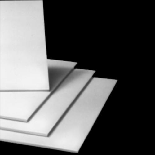 Plate made of PVC-U - light-grey