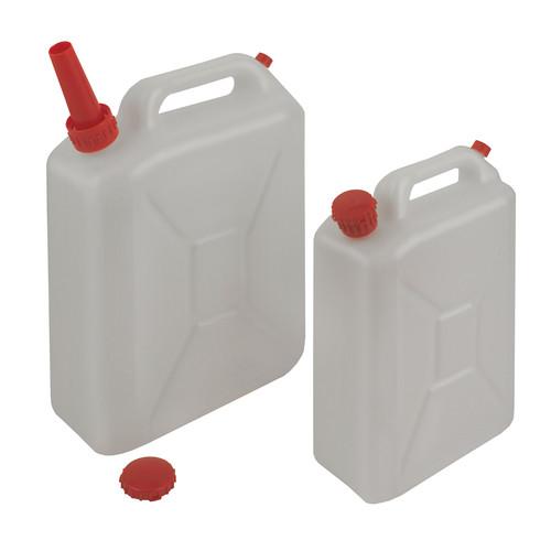 Kanister aus HDPE - mit Auslaufstutzen