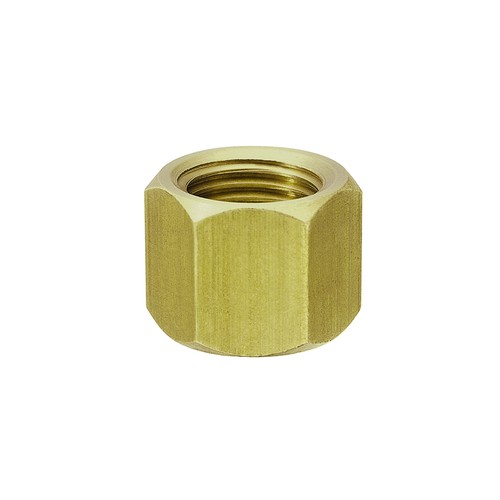 Cap Nut for Tubing Nozzle made of Brass