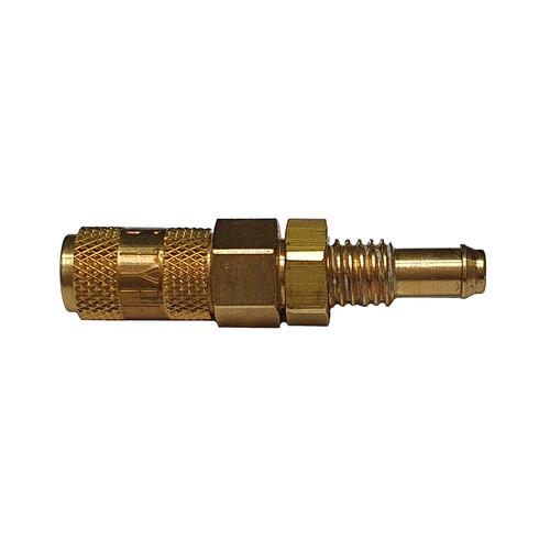 Mini-Schnellverschlusskupplung, NW 1,8 mm für Schalttafel - absperrend