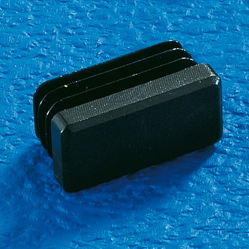 Finned Plug made of LDPE - rectangular