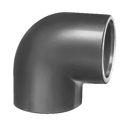 Winkel-Verbinder 90° mit Klebemuffe aus PVC-U