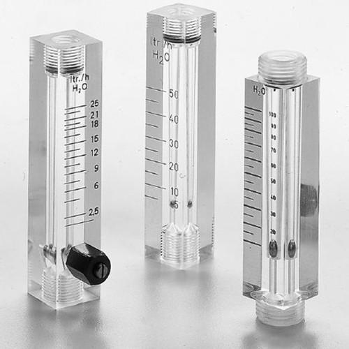Durchflussmesser aus Acrylglas