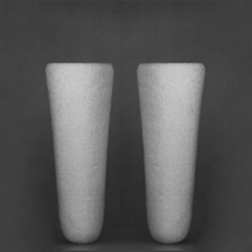 Mikro-Filterkerze aus Borosilikatglas - konisch
