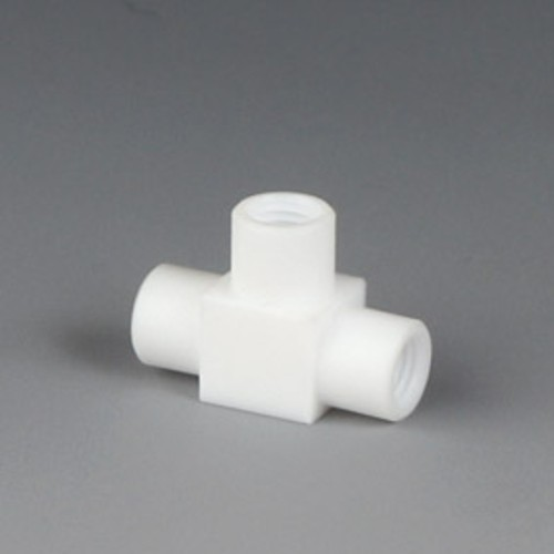 T-Shaped Screwed Joint made of PTFE