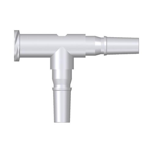 Luer-T-Koppelstück (weiblich/männlich/männlich)