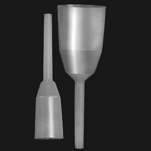 Funnel made of LDPE - cylinder-shaped