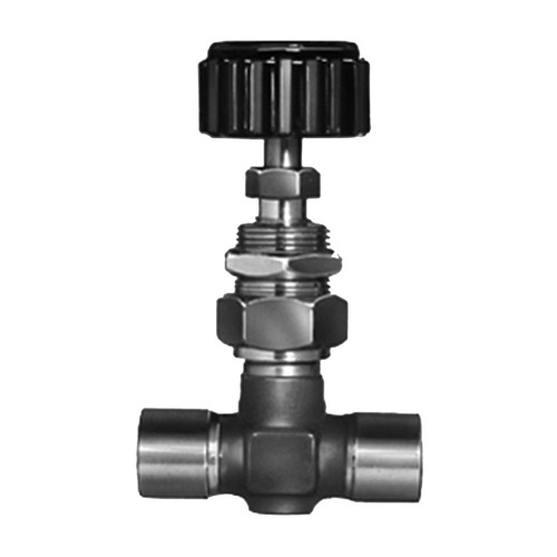 Shut-off Valve made of Stainless Steel with Internal Thread